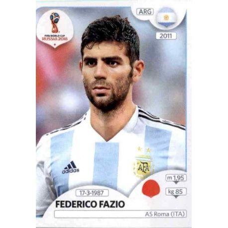 Federico Fazio Argentina 276 Argentina