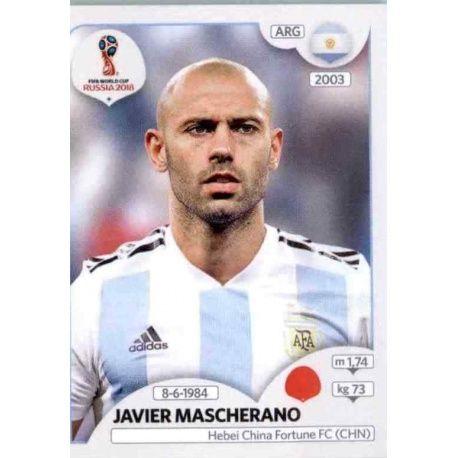 Javier Mascherano Argentina 277 Argentina