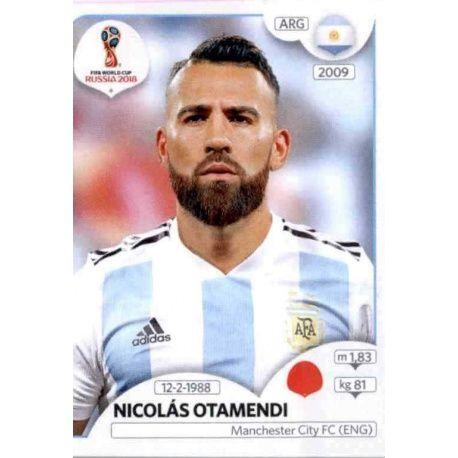 Nicolás Otamendi Argentina 278 Argentina