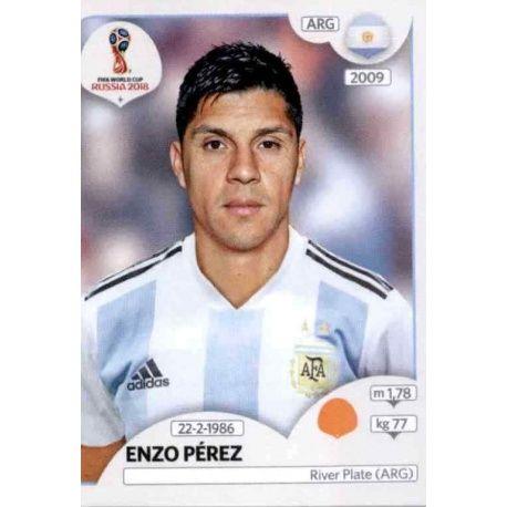Enzo Pérez Argentina 282 Argentina