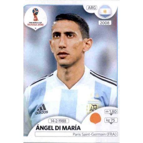Ángel Di María Argentina 283 Argentina