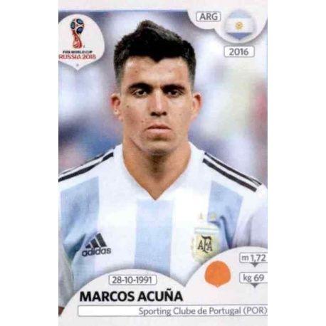 Marcos Acuña Argentina 284 Argentina