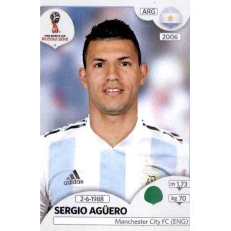 Sergio Agüero Argentina 290 Argentina