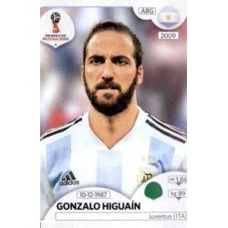 Gonzalo Higuaín Argentina 291