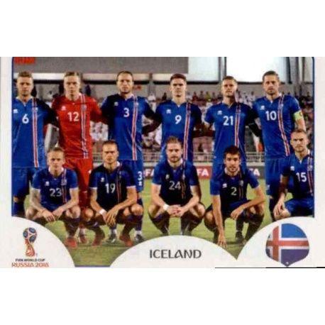 Alineación Islandia 293 Iceland
