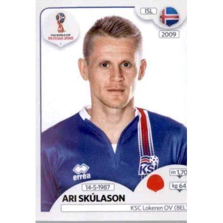 Ari Skúlason Islandia 298 Islandia