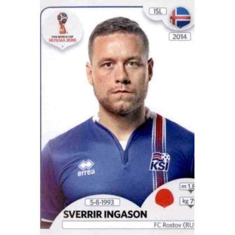 Sverrir Ingason Islandia 299 Iceland