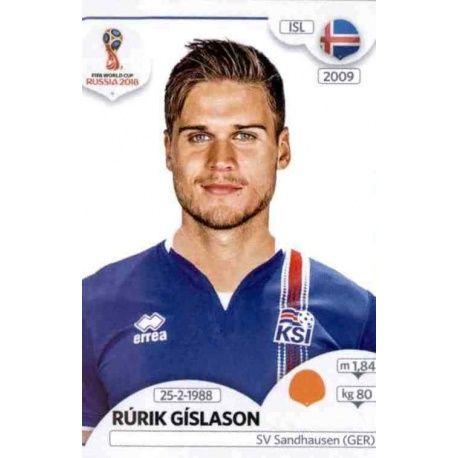 Rúrik Gislason Islandia 306 Islandia