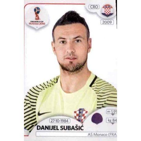 Danijel Subašić Croacia 314 Croatia