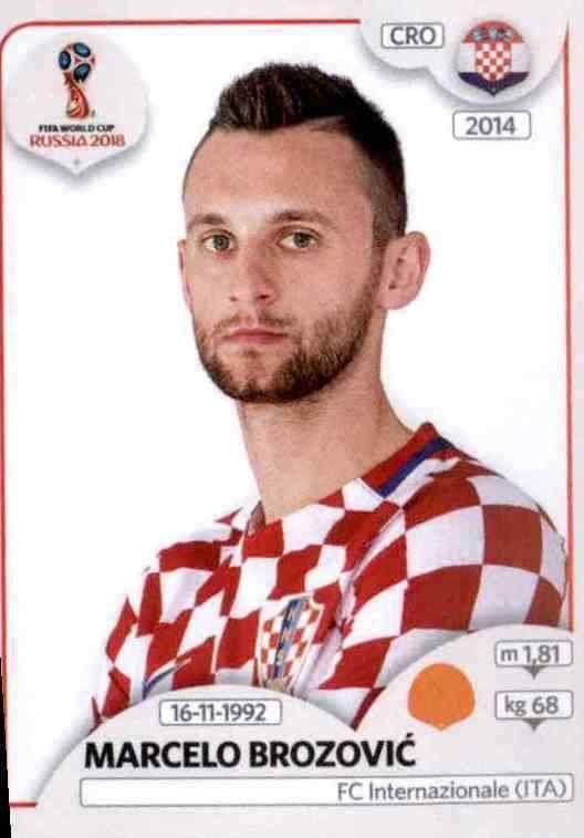 Panini WM 2018 World Cup Russia Sticker 319 Josip Pivaric Kroatien