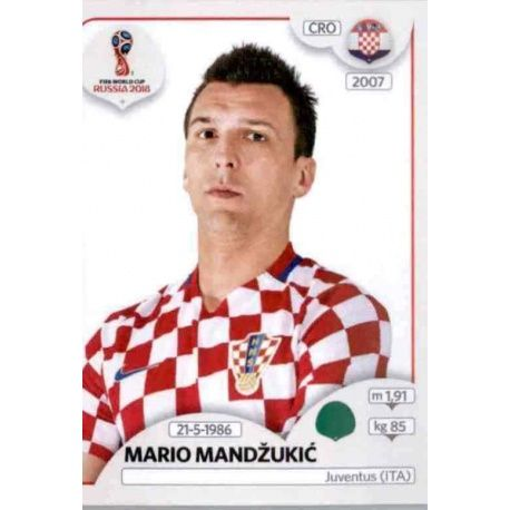 Mario Mandžukić Croacia 330 Croacia