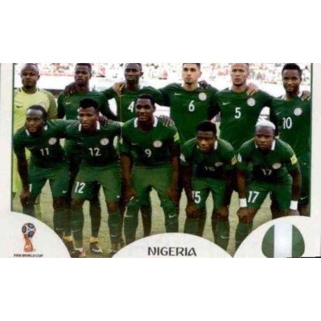 Alineación Nigeria 333 Nigeria