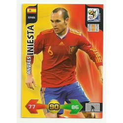 Andres Iniesta España 131