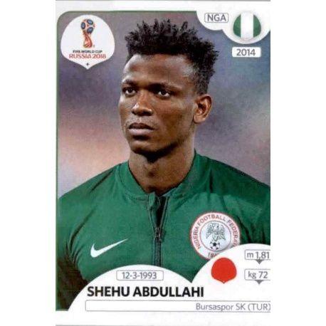 Shehu Abdullahi Nigeria 336 Nigeria