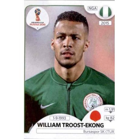 William Troost-Ekong Nigeria 337Nigeria