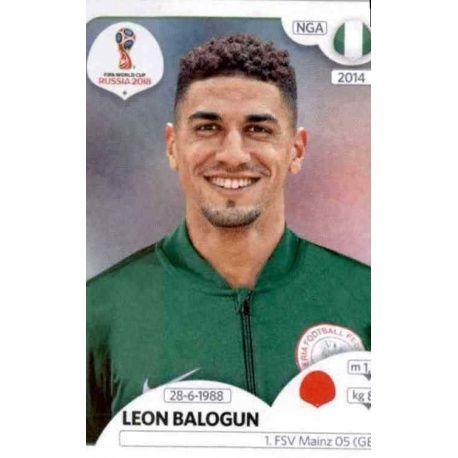 Leon Balogun Nigeria 338 Nigeria