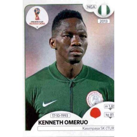 Kenneth Omeruo Nigeria 339 Nigeria