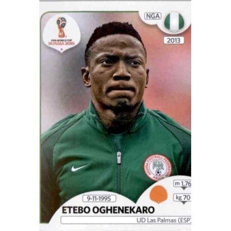 Etebo Oghenekaro Nigeria 343 Nigeria