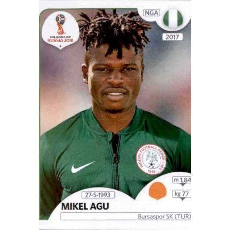 Mikel Agu Nigeria 345 Nigeria