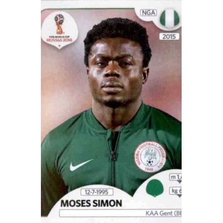 Moses Simon Nigeria 348 Nigeria