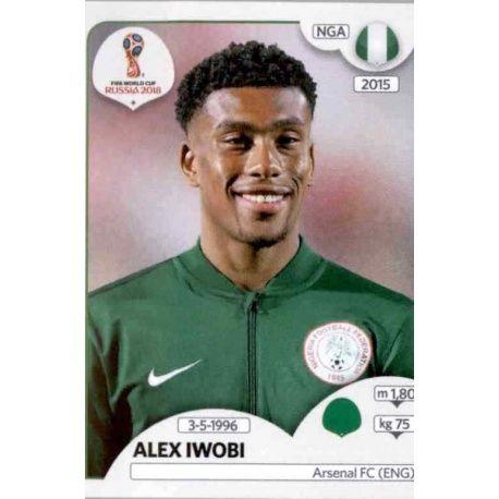 Alex Iwobi Nigeria 350 Nigeria
