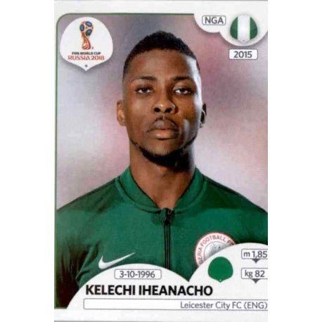Kelechi Iheanacho Nigeria 351 Nigeria