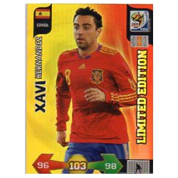Xavi Limited Edition Spain Adrenalyn XL South Africa 2010