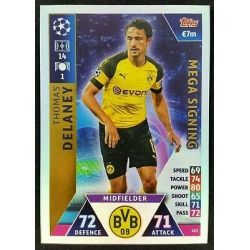 Thomas of theaney Mega Signing 423 Match Attax Champions 2018-19