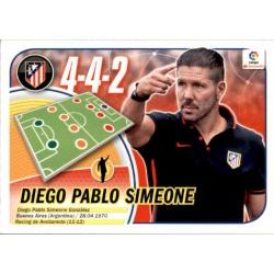 Diego Pablo Simeone Atlético Madrid 6 Ediciones Este 2016-17