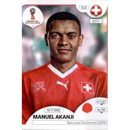 Manuel Akanji Suiza 376 Suiza