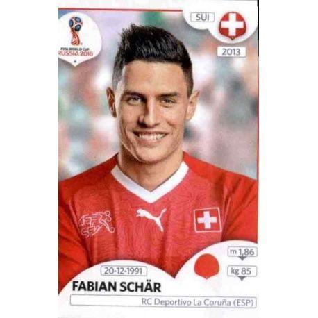 Fabian Schär Suiza 380 Switzerland