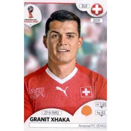 Granit Xhaka Suiza 381 Switzerland