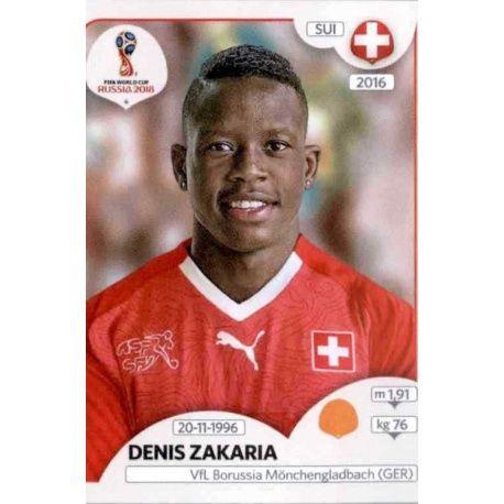 Denis Zakaria Suiza 384 Switzerland