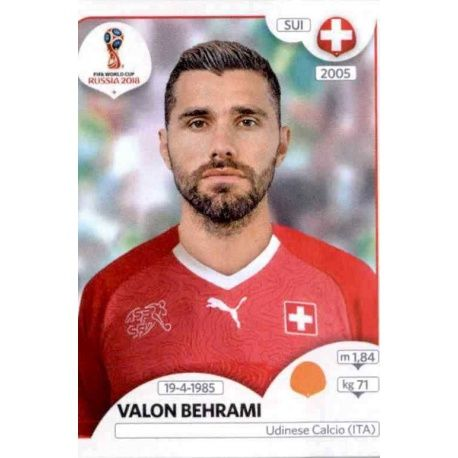 Valon Behrami Suiza 386 Switzerland