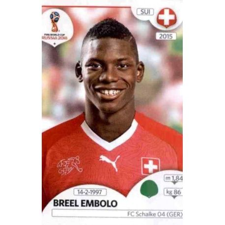 Breel Embolo Suiza 388 Switzerland