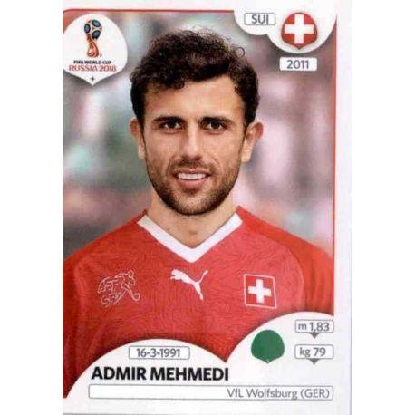 Admir Mehmedi Suiza 390 Suiza