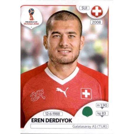 Xherdan Shaqiri Sticker 385 Panini WM 2018 World Cup Russia Schweiz