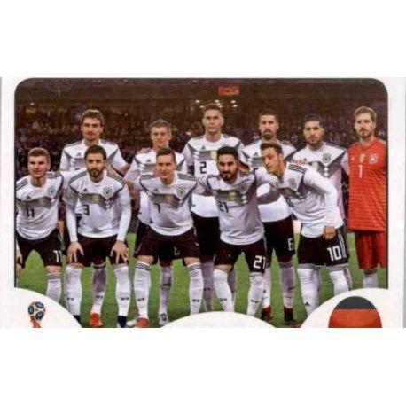 Alineación Alemania 433 Germany