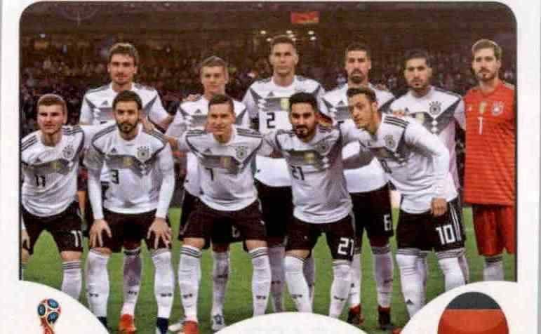 Panini WM 2018 World Cup Russia Sticker 436 Deutschland Antonio Rüdiger