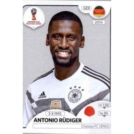 Antonio Rüdiger Alemania 436 Alemania