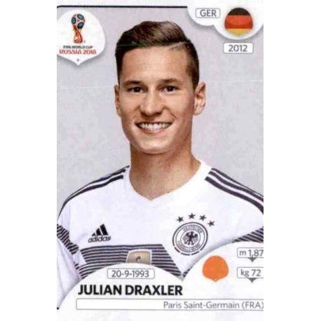 Julian Draxler Alemania 440 Alemania