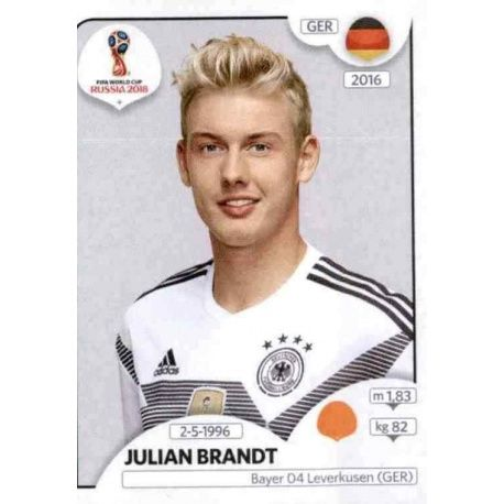 Julian Brandt Alemania 444 Germany