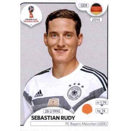 Sebastian Rudy Alemania 445 Alemania