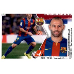 Mascherano Barcelona 9 Ediciones Este 2015-16