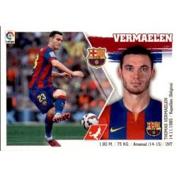 Vermaelen Barcelona 21 Ediciones Este 2015-16