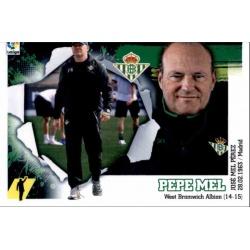 Pepe Mel Betis 2 Ediciones Este 2015-16