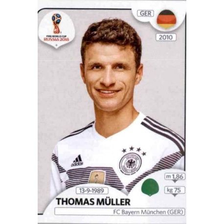 Thomas Müller Alemania 450 Germany