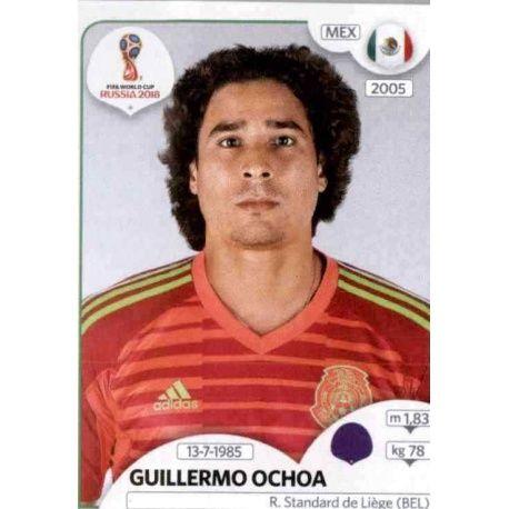 Guillermo Ochoa México 454 México
