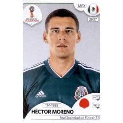 Héctor Moreno México 457