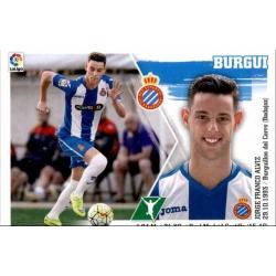 Burgui Espanyol 19 Ediciones Este 2015-16
